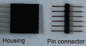 housing & pin connector