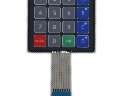 Membrane keypad