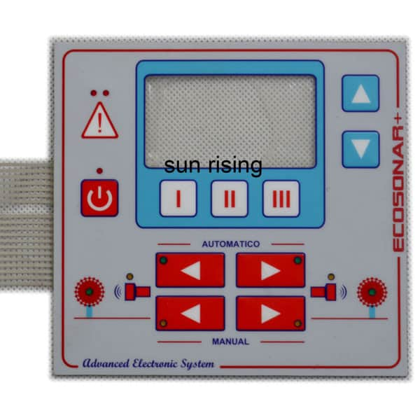 standard membrane switch