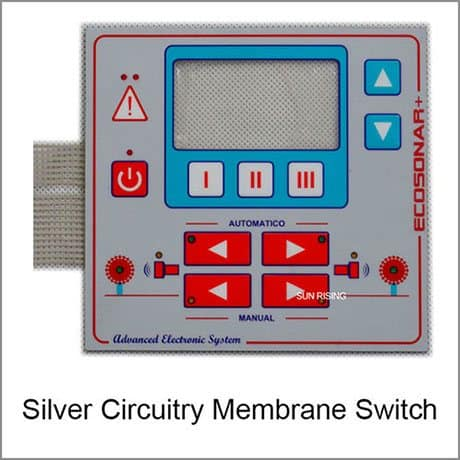 silver flex membrane switch