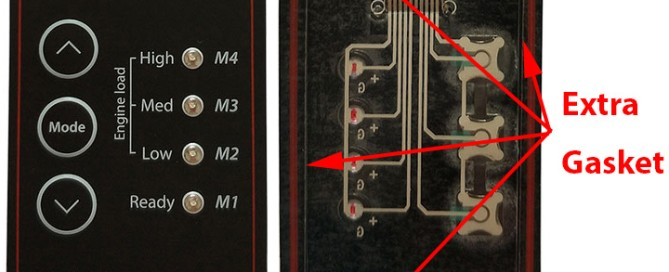 watwe proof membrane switch